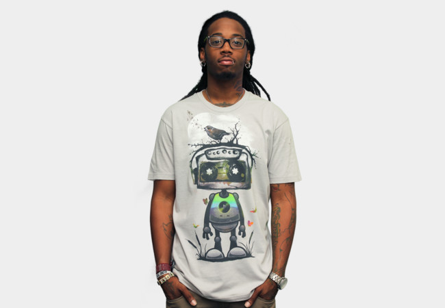 Play My Musical Robot T-Shirt - Design By Humans