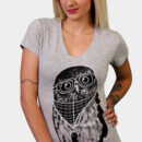 SorBT wearing Limited Edition - Smart Owl by Recycledwax