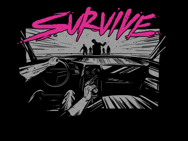 Survive Zombie News Shirt