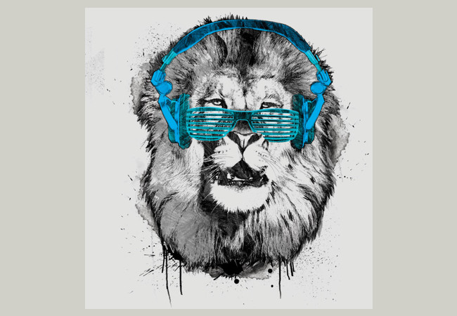 Shady Lion  Artwork