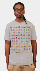Fashion Invadors Nerd Shirt