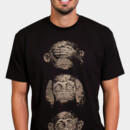 gemaalfaputra wearing 3 wise monkeys by moutchy