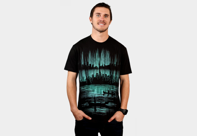 -=voyage to toxin city=- T-Shirt - Design By Humans