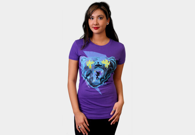 Limited Edition - Thrillin Bear T-Shirt - Design By Humans