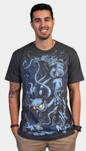 Art Deco Owl Graphic Tees