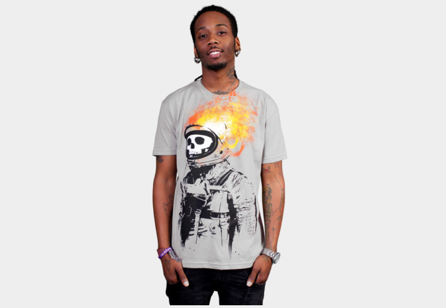 Crash and Burn T-Shirt - Design By Humans