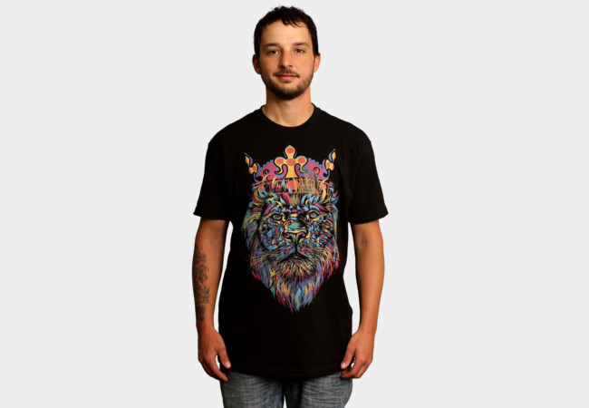 Bright Like A King T-Shirt - Design By Humans