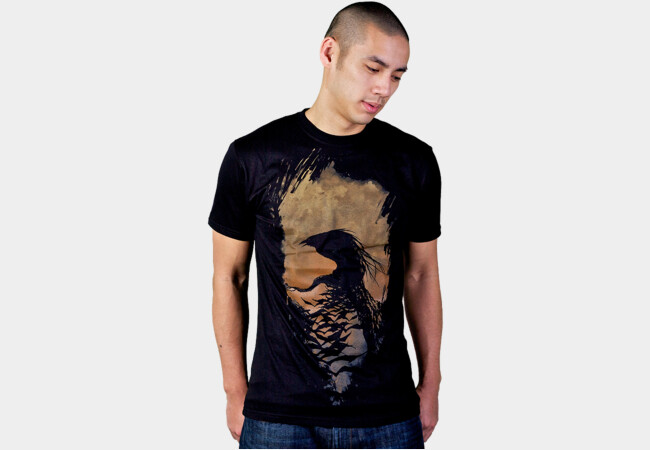 Crow Feathers T-Shirt - Design By Humans
