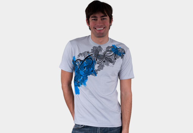 Upstream T-Shirt - Design By Humans