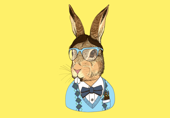 Nerd Bunny  Artwork