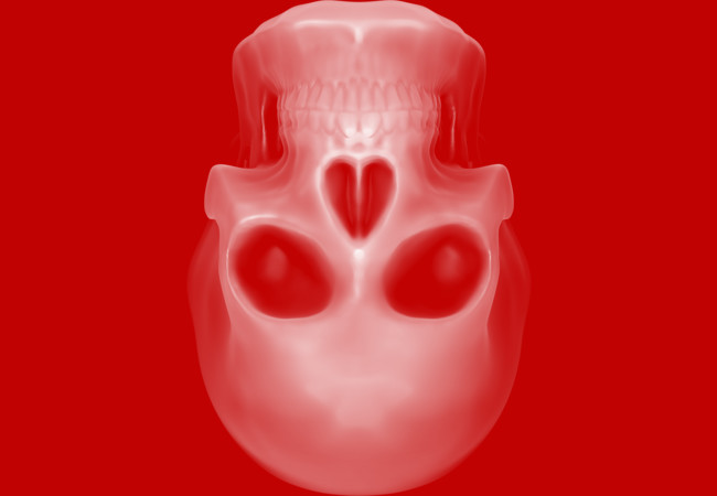 Heart of Skull  Artwork