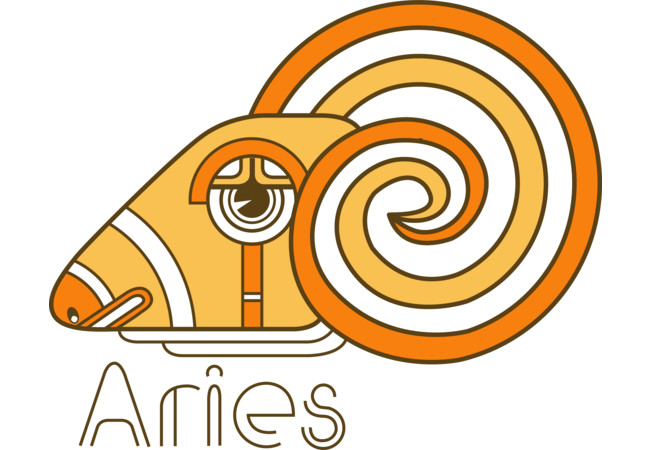 Aries Deco  Artwork