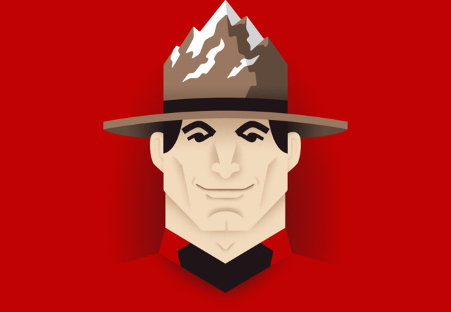 Mountie  Artwork