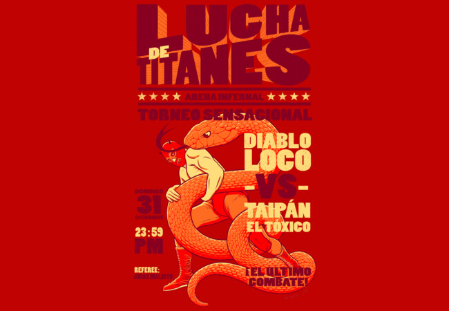 Lucha de Titanes  Artwork