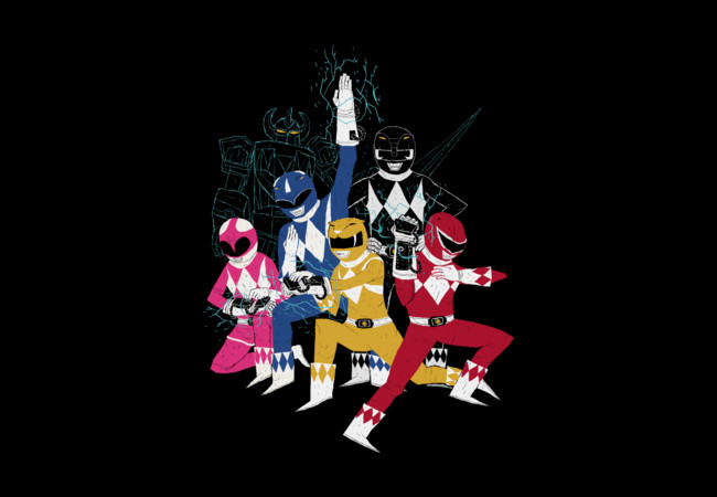 power glove rangers  Artwork