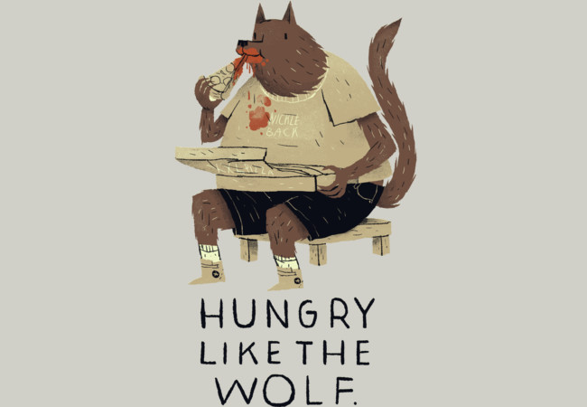hungry like the wolf  Artwork