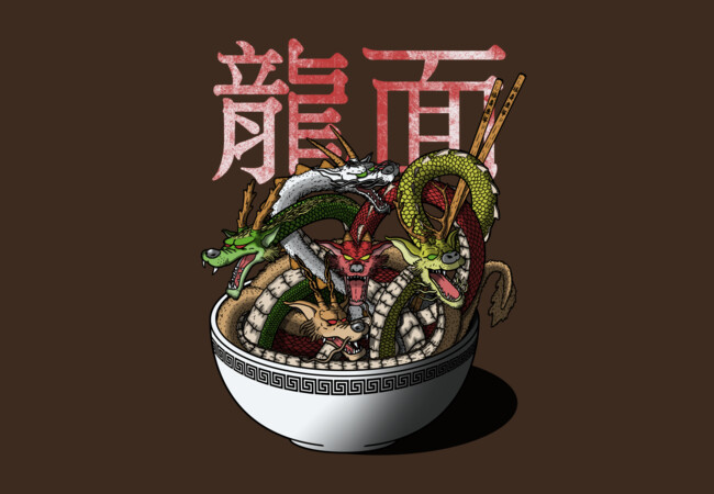 Dragon Noodles.  Artwork