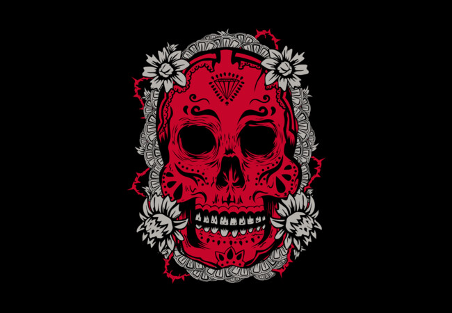 Mexican Skull  Artwork