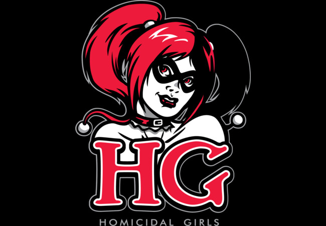 Homicidal Girls  Artwork