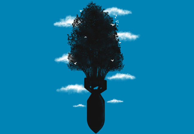 The Missile Trees  Artwork