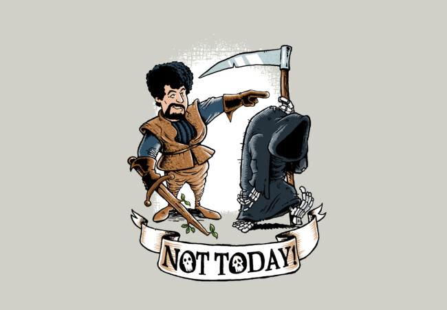 Not Today!  Artwork