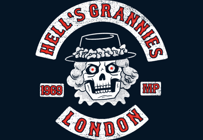 Hell's Grannies 1969  Artwork