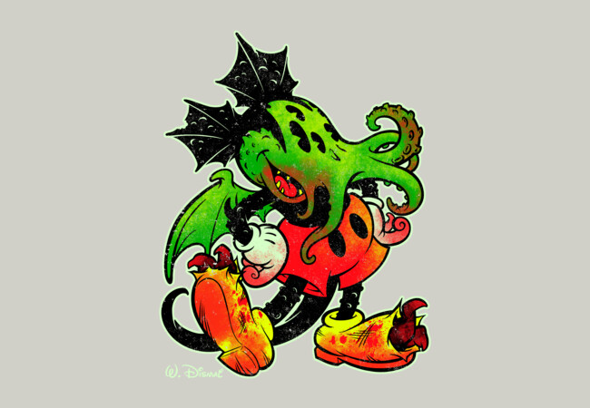 MICKTHULHU MOUSE (color)  Artwork