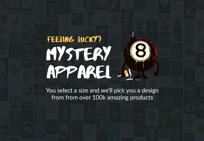 DesignByHumans Mystery Tee  Artwork