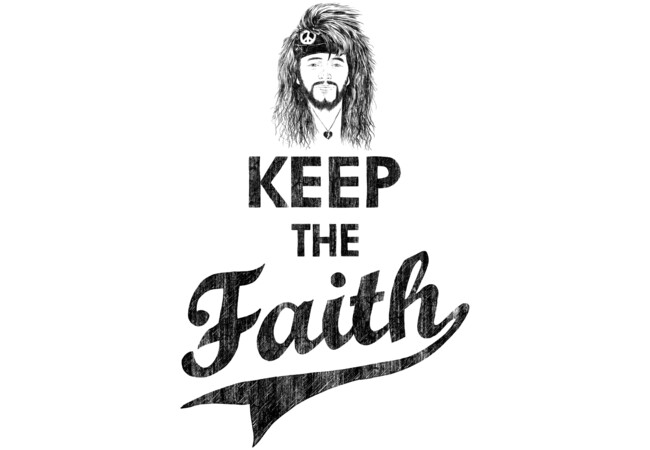 KEEP THE FAITH  Artwork