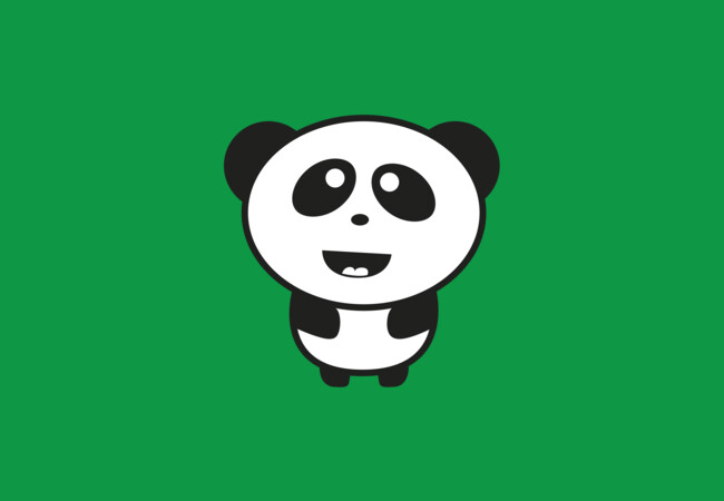 Cute Baby Panda  Artwork