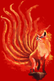 nine tailed fox
