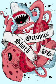 Shark vs Octopus