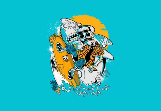 skull surfer  Artwork