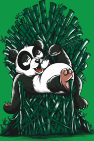 Panda on Throne