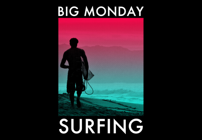 Big Monday Surfing  Artwork