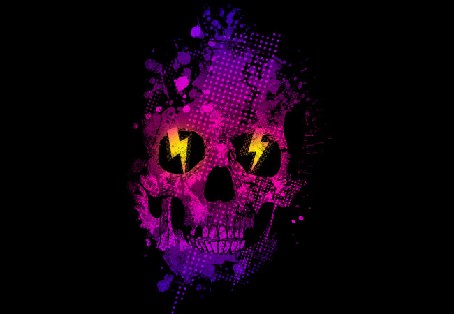 Skull t-shirt  Artwork