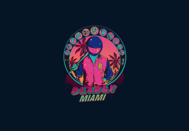 Deadly Miami  Artwork