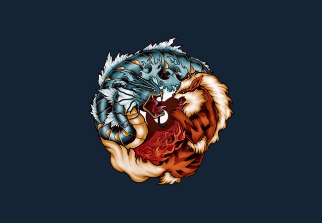 The Tiger and the Dragon  Artwork