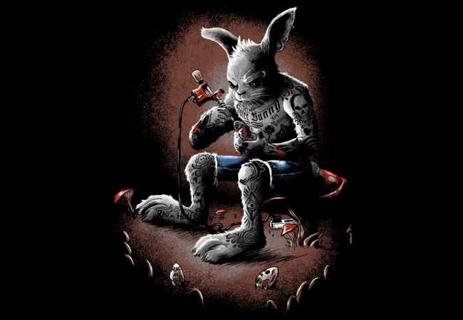 rad easter bunny  Artwork
