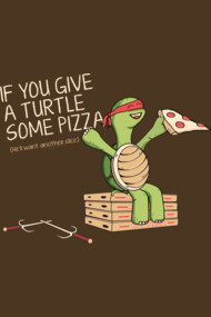 Give a Turtle Some Pizza