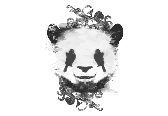 Pretty Panda  Artwork
