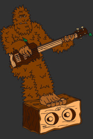 Sasquatch Slappin' the Bass