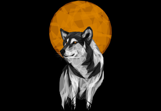 Geometric Wolf  Artwork