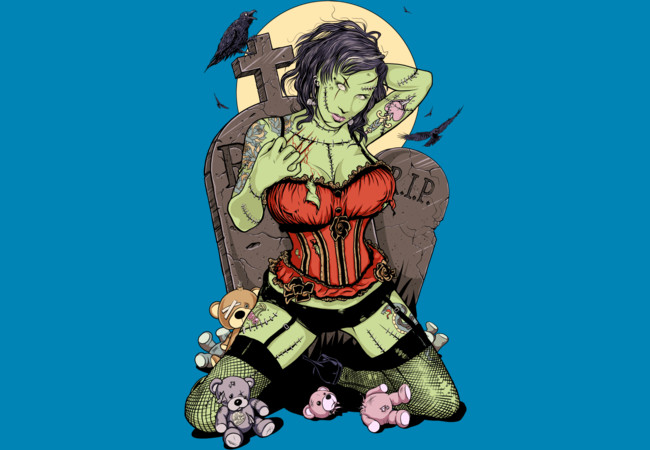 Great-Granddaughter of Frankenstein  Artwork