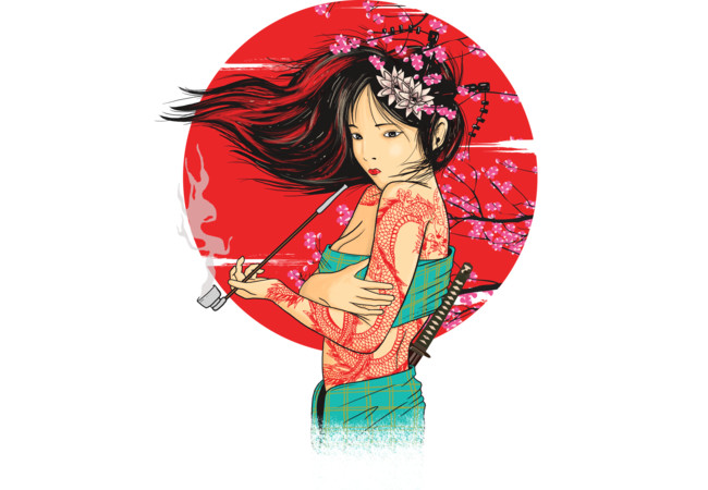 The geisha  Artwork