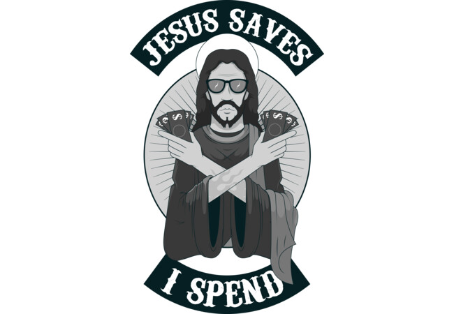JESUS SAVES  Artwork