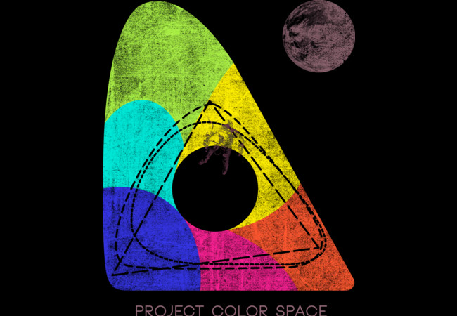 Project Color Space  Artwork