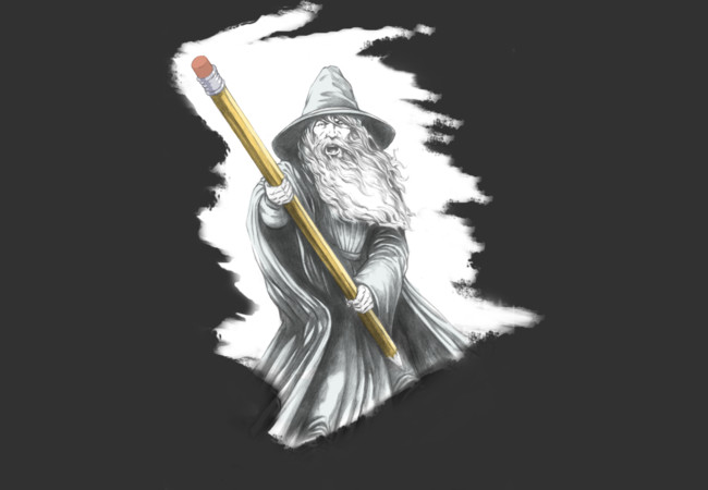The Pencil Wizard  Artwork
