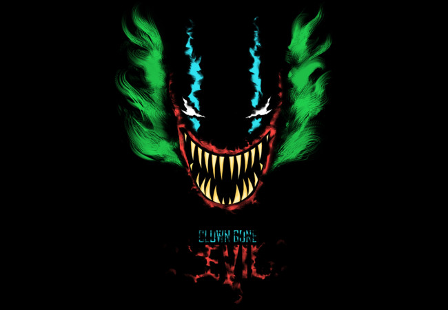 Clown Gone Evil  Artwork