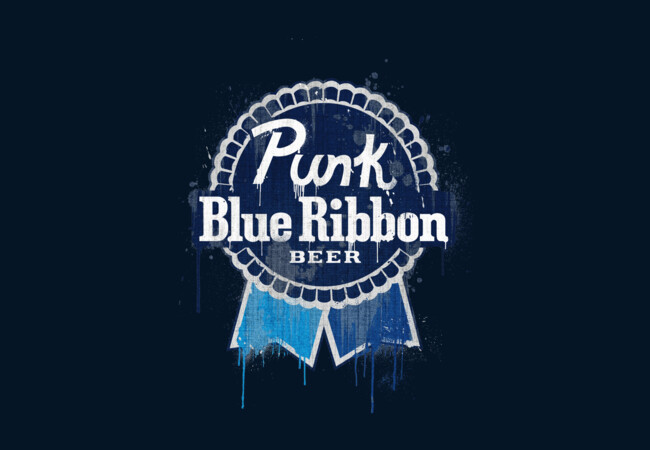 Punk Blue Ribbon